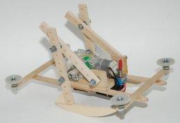 ชุดคิตหุ่นยนต์วิ่งเร็วสองขา (กรุณาระบุในหมายเหตุว่าใช้ อปก ร่วมกับแบตเตอรี่หรือชุดปั่นไฟ)