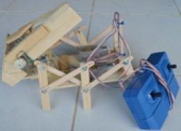 หุ่นยนต์คีบกระป๋อง ประกอบสำเร็จพร้อมรีโมท 4-CH