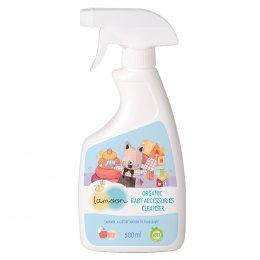 ละมุน ผลิตภัณฑ์น้ำยาเช็ดทำความสะอาดของใช้เด็ก ออร์แกนิค 500 มล. สเปรย์