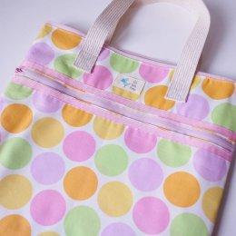 Qd GoGreen Bag - Polka Dot กระเป๋าผ้าเอนกประสงค์