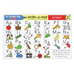 Write-A-Mat Learning Mat - Alphabet
