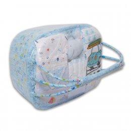 ชุดของขวัญแบบตะกร้าหิ้ว Size L - Auka สีฟ้า