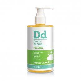 Derpa derma shower oil milk สำหรับผู้ใหญ่ 280 ml.