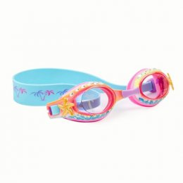 แว่นตาว่ายน้ำ Bling2o -ISLAND HOPPING-PRIVATE CABANA BLUE