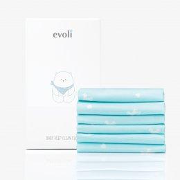 Evoli Baby Keep Clean Cloth ผ้าเอนกประสงค์ (6 ชิ้น)