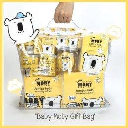 MOBY Gift set  สำลีรูปแบบต่างๆ สำหรับเด็ก