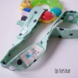 สายห้อยยางกัด ของเล่น Qd Toystrap