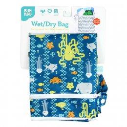 """ถุงใส่ผ้าเปียก/แห้ง Bumkins Wet Dry Bag ขนาด 12.5""""W X 16""""L"""