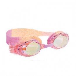 แว่นตาว่ายน้ำ Bling2o - GOLD ROSE QUARTZ PINK