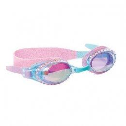 แว่นตาว่ายน้ำ Bling2o - GOLD Blue Topaz
