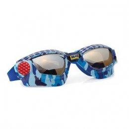 แว่นตาว่ายน้ำ Bling2o - MUDCAMO BLUE METAL GRILL