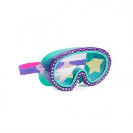 แว่นตาว่ายน้ำ Bling2o - ROCK STAR GLITTER MASK - GRAPE