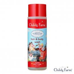Childs Farm Hair & Body Wash (Organic Sweet Orange) อาบสนุกสระสนุกในขวดเดียว