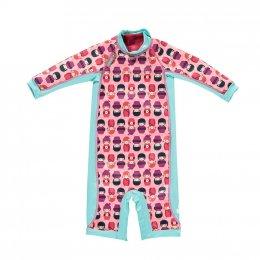ชุดว่ายน้ำเด็กกันหนาว Close Snug Suit ลาย Kodeshi Doll