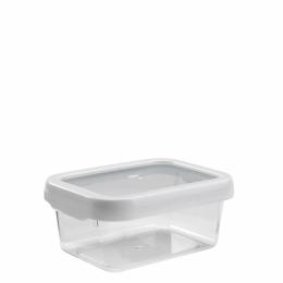 กล่องเก็บอาหาร ขนาด 0.9 L. l OXO GG LockTop Containers 3.8 cups white