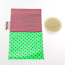 Beanie Nap Breast Hot pack - ถุงประคบร้อน ประคบหน้าอก Green Dot