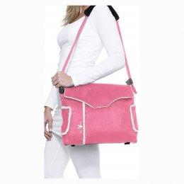 Wallaboo กระเป๋าผ้าอ้อม กระเป๋าคุณแม่พร้อมอุปกรณ์ สีชมพู