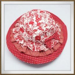 Sati หมวกเด็ก Hat Red Roses (L)