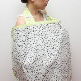 ผ้าคลุมให้นม Beanie Nap Nursing cover ลาย Grey N Green