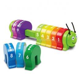 ตัวหนอนสอนนับเลข Counting Caterpillar