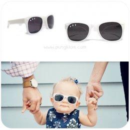 แว่นตากันแดดเด็ก Ro.sham.bo Baby shade สี Ice Ice baby (พ่อ แม่ ลูก)