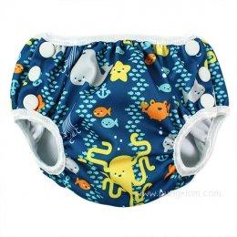 กางเกงผ้าอ้อมว่ายน้ำเด็กเล็ก Bumkins - Sea Friends