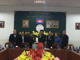 การประชุมคณะกรรมการบริหารหอการค้ากลุ่มเบญจบูรพาสุวรรณภูมิ ครั้งที่ 1/2561