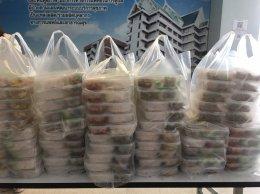 ร่วมกับสมาคม สภาสมาคม และผู้ประกอบการ ชมรม ในฉช. มอบอาหารกล่อง 4