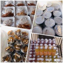 ร่วมกับสมาคม สภาสมาคม และผู้ประกอบการ ชมรม ในฉช. มอบอาหารกล่อง 3