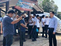 คณะกรรมการหอการค้าไทย ตรวจเยี่ยมโครงการหอการค้าฉช.
