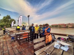 """โครงการท่องเที่ยวทางน้ำ อนุรักษ์แม่น้ำบางปะกง จังหวัดฉะเชิงเทรา"""" 2560"""
