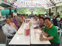 ร่วมพิธีเปิดงานงานขนมหวาน อาหารอร่อยและของดีเมืองแปดริ้ว 2561