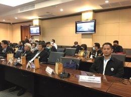 ประชุมกับคณะผู้แทนสำนักงานเศรษฐกิจและการค้าฮ่องกงประจำประเทศไทย พร้อมออกบู๊ธสินค้าเกษตร