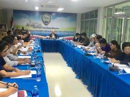 ประชุมคณะกรรมการบริหารหอการค้าจังหวัดฉะเชิงเทรา ครั้งที่ 4/2561