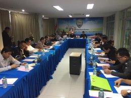 ประชุมคณะกรรมการบริหารหอการค้าจังหวัดฉะเชิงเทรา ครั้งที่ 8/2560
