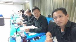 ประชุมคณะกรรมการหอการค้าจังหวัดฉะเชิงเทราครั้งที่ 9/2560