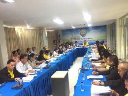 การประชุมคณะที่ปรึกษาและคณะกรรมการหอการค้าจังหวัดฉะเชิงเทรา ครั้งที่ 5 / 2562