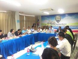 การประชุมคณะกรรมการบริหารหอการค้า ครั้งที่ 9/2562