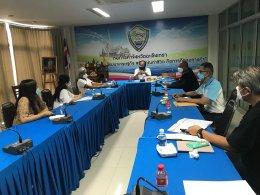 ประชุมหารือแนวทางดำเนินงานตามมาตรา 35 การส่งเสริมการสร้างอาชีพคนพิการ
