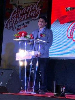 Grand Opening โชว์รูมและศูนย์บริการรถยนต์ฮอนด้า แห่งใหม่ใน จ.ฉะเชิงเทรา