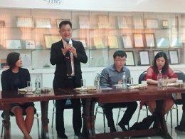 หอการค้าจังหวัดฉะเชิงเทรา กำหนดให้การต้อนรับคณะจากสำนักผู้แทนสภาส่งเสริมการค้าระหว่างประเทศจีน