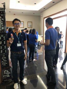 คณะผู้ร่วมโครงการพัฒนาศักยภาพผู้ประกอบร้านขายยา NANO MBA รุ่นที่ 9