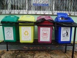 โครงการคัดแยกขยะก่อนทิ้งลงถัง