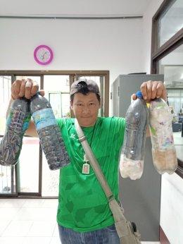 อบต.สิงห์ ร่มกันบรรจุขยะ (Eco Bricks) (อปท.ละ 100 ขวด) เพื่อนำส่ง ท้องถิ่นอำเภอไทรโยค