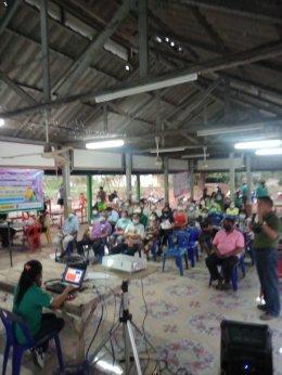 โครงการประชาสัมพันธ์ อบรม รณรงค์ให้ความรู้ ประจำปี 2564 หมูู่ที่ 3 บ้านหนองปลาไหล