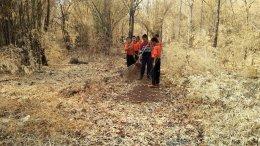 โครงการซ้อมแผนการป้องกันและบรรเทาสาธารณภัย ปี 2563(กิจกรรมการทำแนวป้องกันไฟป่า)