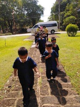 กิจกรรมพัฒนาผู้เรียนศึกษาแหล่งเรียนรู้ในชุมชน ณ ปราสาทเมืองสิงห์