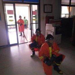 โครงการซ้อมแผนการป้องกันและบรรเทาสาธารณภัย ประจำปี 2562(กิจกรรมซักซ้อมการปฏิบัติงานของเจ้าหน้าที่ดับเพลิง พนักงานส่วนตำบล และอาสาสมัครป้องกันภัยฝ่ายพลเรือน)