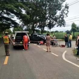 โครงการซ้อมแผนป้องกันและบรรเทาสาธารณภัย ประจำปี 2562( กรณีเกิดอุบัติเหตุทางถนนและการกู้ชีพ)