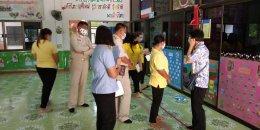 ศูนย์อนามัยที่ 5 ราชบุรี ที่มาให้คำแนะนำสำหรับการเตรียมความพร้อมก่อนเปิดภาคเรียนเพื่อเฝ้าระวังและป้องกันการแพร่ระบาดของโรคโควิด 19